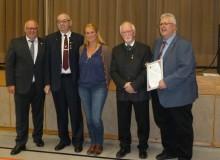 Anerkennung für 125 Jahre Albvereinsortsgruppe Engstlatt
