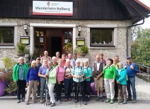 Engstlatter Albverein unterwegs zum Rossberg